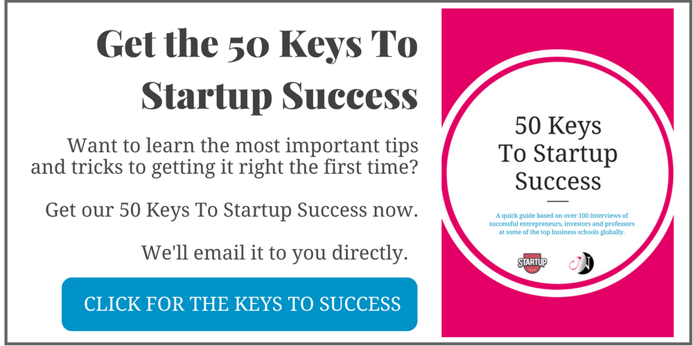 Get the 50 Keys To Startup Success Now